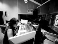 Zajęcia z dziennikarstwa radiowego - fot. Ania Zakrzewska, _dsc1102a