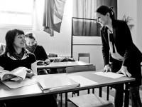 Bianka Siwińska o przeprowadzaniu wywiadów prasowych - fot. Adrian Cognac, 07