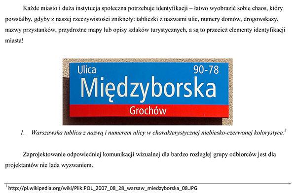 Zasady pisania pracy licencjackiej - Przykład zastosowania ilustracji w pracy