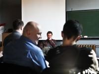 Tworzymy reportaże, tym razem pod opieką Tomasza Zaperta - fot. Grzegorz Mikrut, img_7285