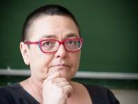 Lidia Ostałowska o sztuce tworzenia reportaży - fot. Michał Rogala, img_9294