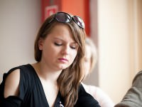 Lidia Ostałowska o sztuce tworzenia reportaży - fot. Michał Rogala, img_9295