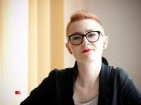 Lidia Ostałowska o sztuce tworzenia reportaży - fot. Michał Rogala, img_9298