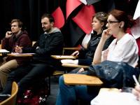 Paweł Lisicki - 23 marca 2014 r. - spotkanie autorskie i warsztaty dziennikarskie o sztuce pisania felietonów , img_1307_lisicki
